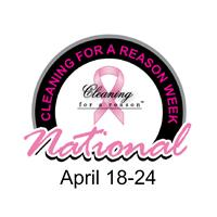 National CLeaning For A Reason Week logo