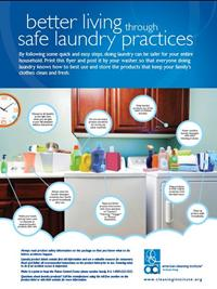 Laundry Clean Living American Cleaning Institute