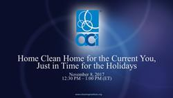 110817 Holiday Cleaning Webinar