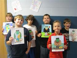 Ms. Thayer's 4th graders - Tollesboro Elementary