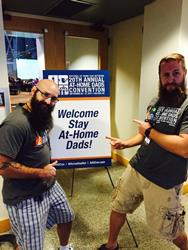 Two cool dads at home conference