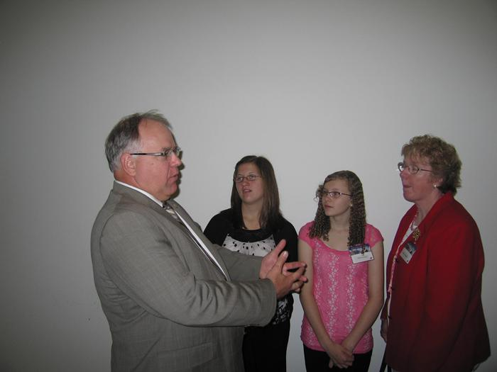 Meeting Congressman Walz