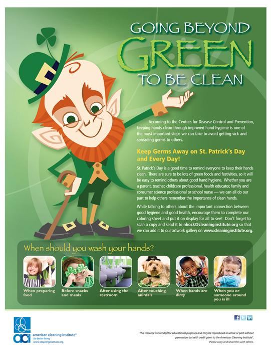 Going Beyond Green to be Clean - St. Patrick's Day