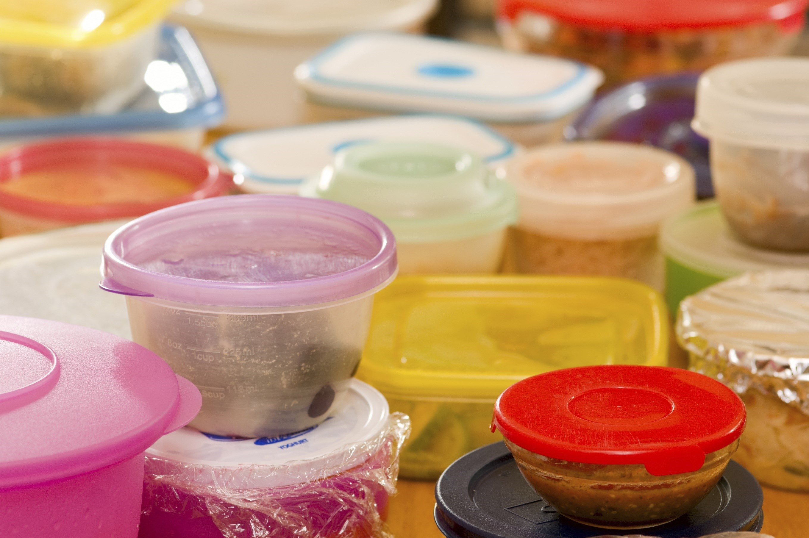 Plastic Food Containers Clean Living American Cleaning