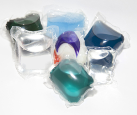 Liquid Laundry Packets And Laundry Pods