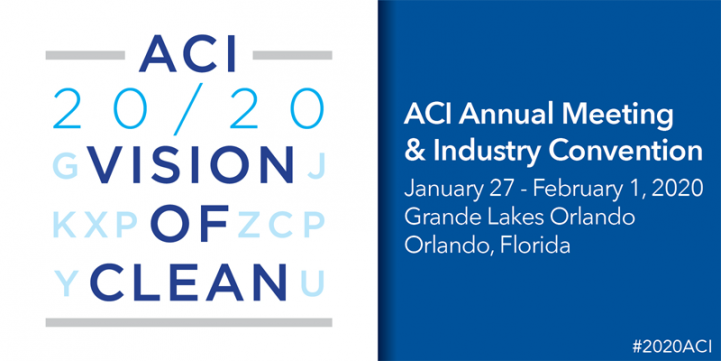 Aci 20 Vision Of Clean Convention Registration Now Open