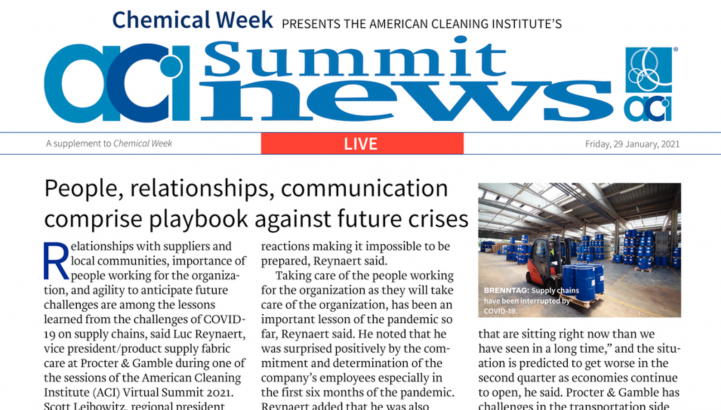 Chemical Week front page