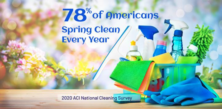 Spring Cleaning Survey Graphic