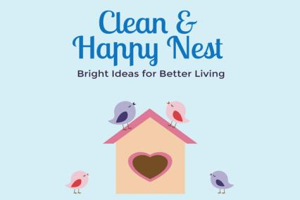 Clean and Happy Nest Blog logo